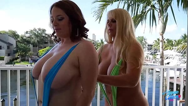 PAWG Lesbian Milfs Maggie Green And Karen Fisher Eat Their Wet Cunts!